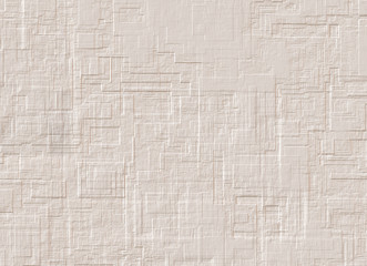 blank modern plaster wall