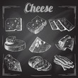 Cheese chalkboard collection - 64622990