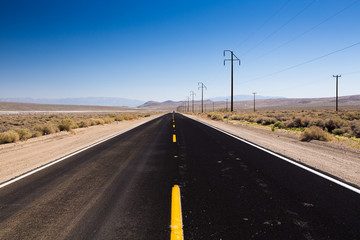 Highway im Death Valley