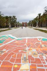 Passeig de Lluís Companys, Barcellona, Spagna
