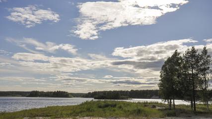 Lulea, Dorf, Küste, Camping, Sommer, Schweden