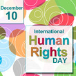 Human Rights Day Colorful Circles