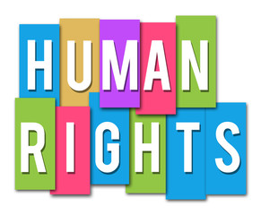 Human Rights Colorful Stripes