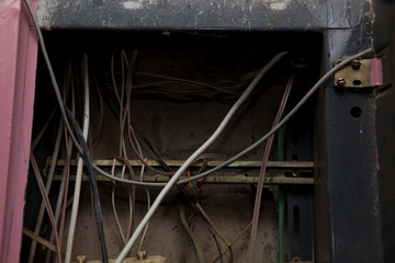 Кабель и старые провода