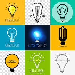 Vector Lightbulb Collection