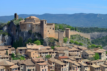 Alquezar village in Spain