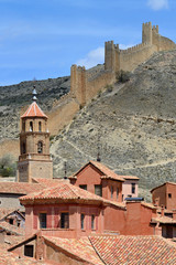 Albarracin town, province of Teruel, Spain