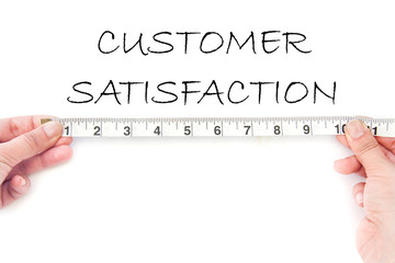 Meausuring customer satisfaction