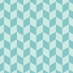 Blue Stripe Rectangle Seamless Pattern