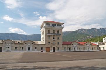 """Crimea. Workshop  winemaking plant """"Massandra"""""""