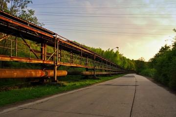 Old ironworks Poldi in Kladno