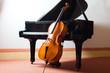 Leinwanddruck Bild - Classical music