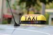 Enseigne lumineuse de taxi
