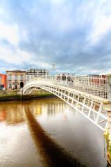 Dublin, Ha'Penny Bridge HDR