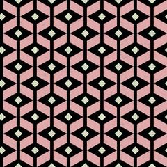 seamless pattern, modern art style