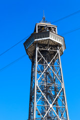 high metal tower