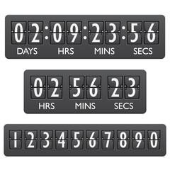 Countdown timer emblem