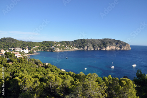 canvas print picture camp de mar, Mallorca