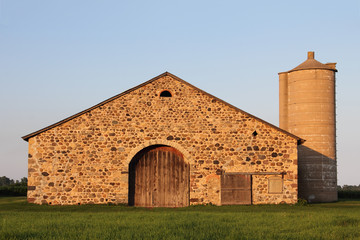 Stone Barn - Retro Rural Building