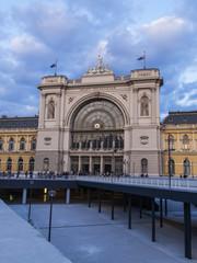 Budapesht , Hungary . Keleti Train Station