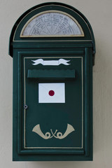 oldfashioned mail box in Tallinn