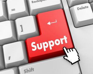red support