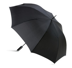 High Resolution Black Umbrella