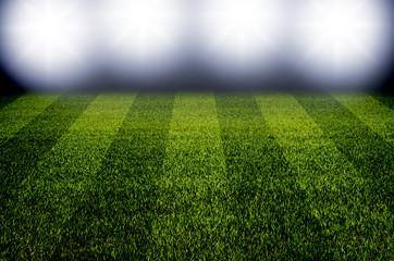 Fußballfeld Nacht