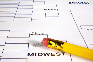 March Madness Tournament Bracket Adjustments