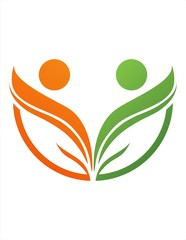 logo icon symbol public health nature care association
