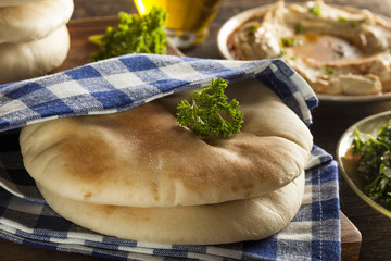 Homemade Organic Pita Bread