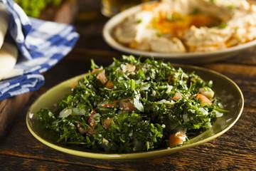 Healthy Organic Tabbouleh Salad