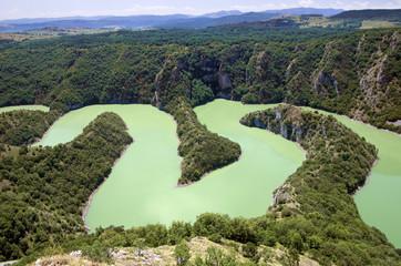 Canyon Uvac River, Serbia
