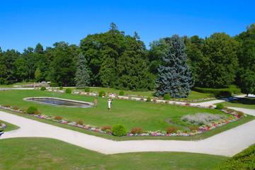 Парк у Дворца Тышкевичей