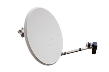 satellite dish with the lot of copy space