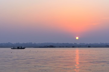 Sunrise on Varanasi