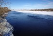 Winter along the river