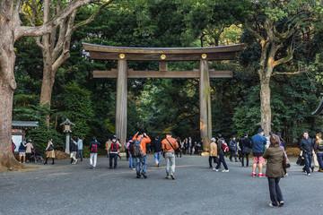 Meiji-jingu shrine in Tokyo