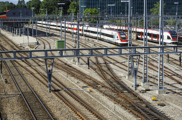 Railyard in Geneva