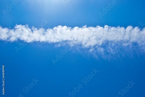 Tuinposter Koraalriffen Blue sky with clouds background