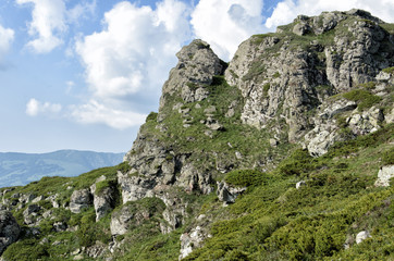 Stara Planina mountain in Serbia