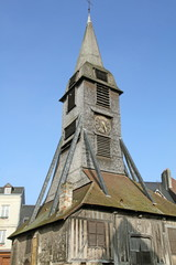 France, Sainte Catherine church in Honfleur