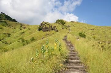 Marches vers le ciel à Bali