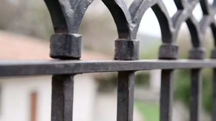 Dolly: Wrought iron fencing