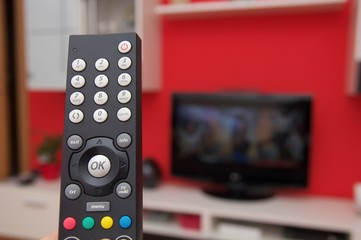 Remote controller of internet TV