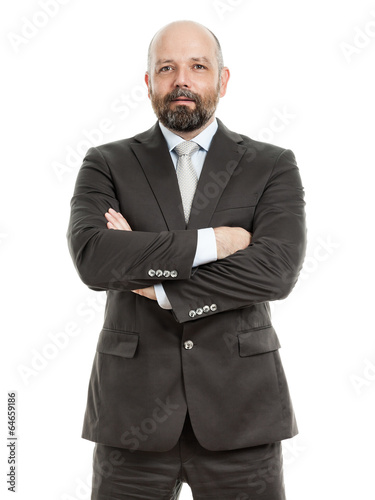 canvas print picture business man