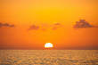 Fabulous sunset on a background of sky and sea. - 64661507