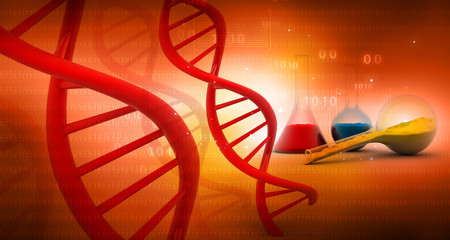 DNA with lab. science background;