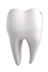 realistic 3d render of human tooth