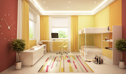 Modern room for baby